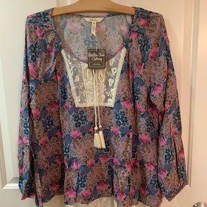 NWT Matilda Jane Sew Perfect Top- size Medium